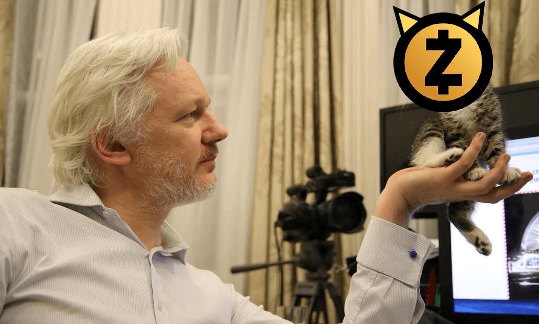 Wikileaks Passa a Aceitar Doações em Zcash